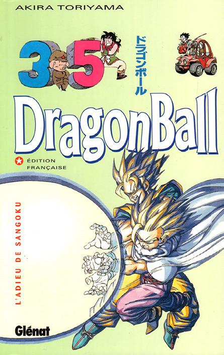 Couverture de Dragon Ball (albums doubles) -35- L'Adieu de Sangoku