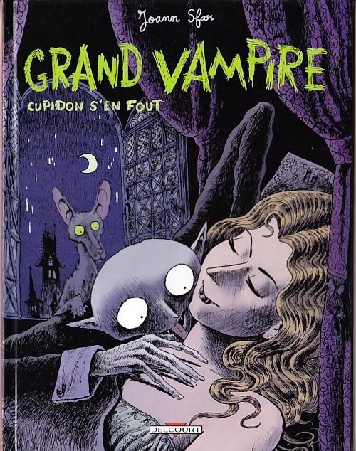Couverture de Grand vampire -1- Cupidon s'en fout