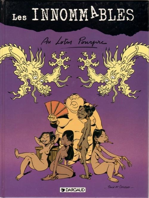 Couverture de Les innommables (Premières maquettes) -53- Au lotus pourpre