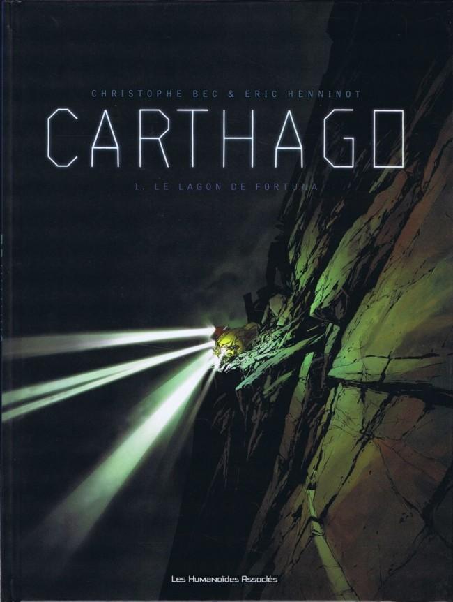 Couverture de Carthago -1- Le Lagon de Fortuna