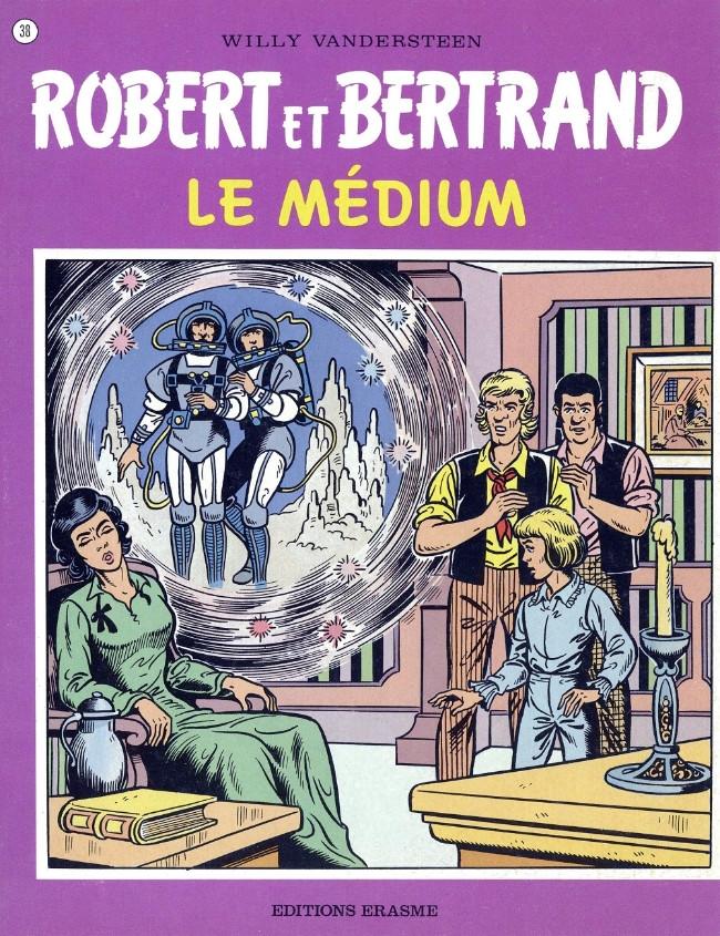 Couverture de Robert et Bertrand -38- Le médium