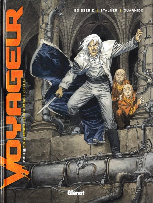 Couverture de Voyageur -1- Futur 1