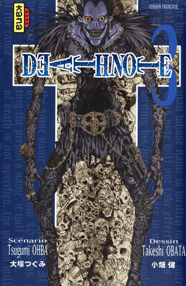 Couverture de Death Note -3- Tome 3