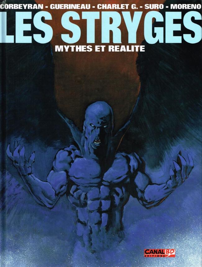 Couverture de Le chant des Stryges -HS- Les Stryges : mythes et réalité