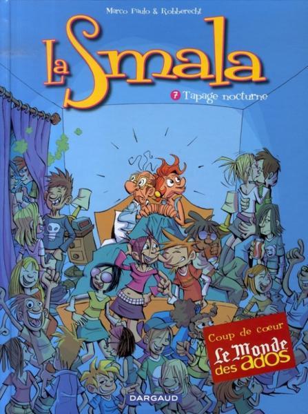 Couverture de La smala -7- Tapage nocturne