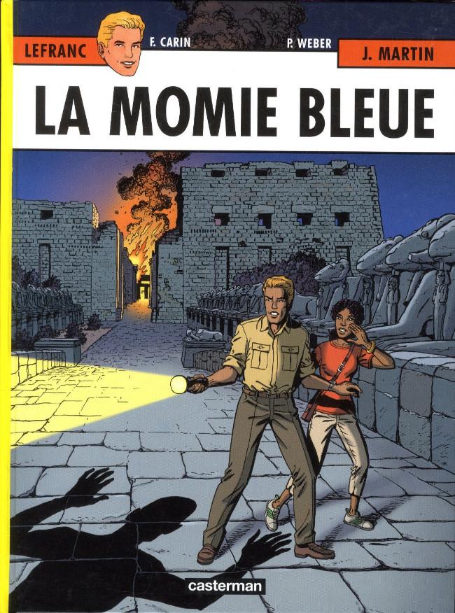 Couverture de Lefranc -18- La momie bleue