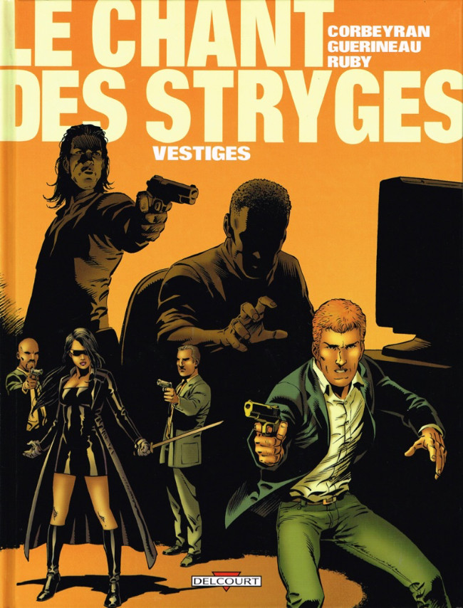 Couverture de Le chant des Stryges -5- Vestiges