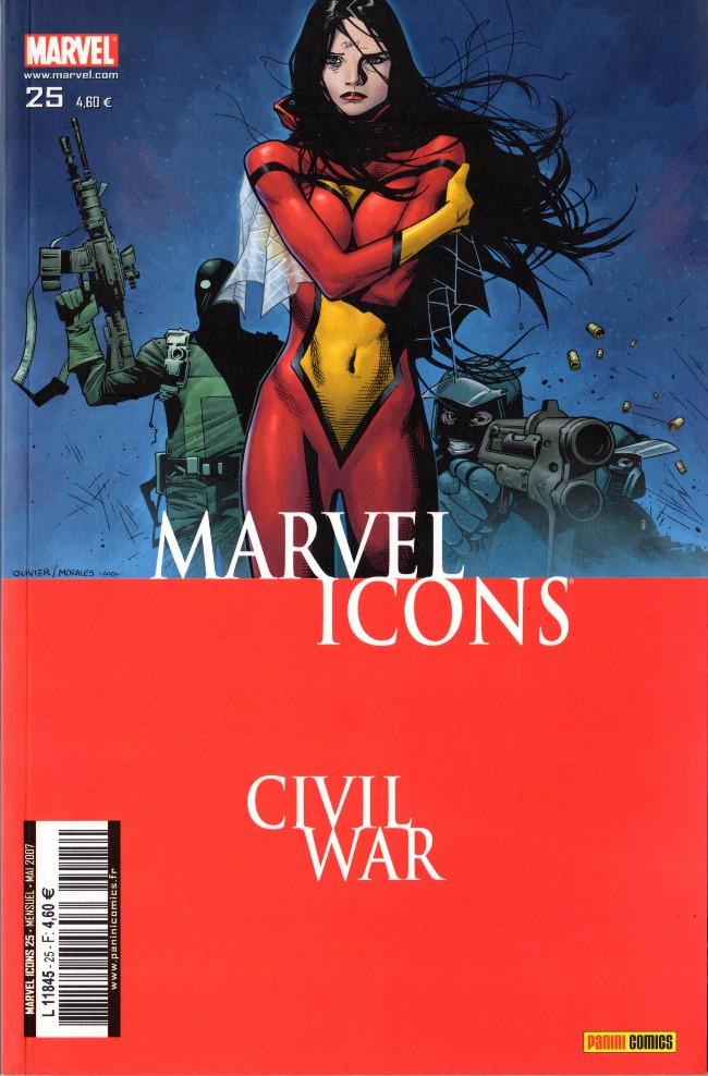 Couverture de Marvel Icons (Marvel France - 2005) -25- La séparation