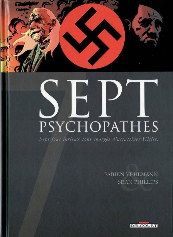 Couverture de Sept -1- Sept psychopathes