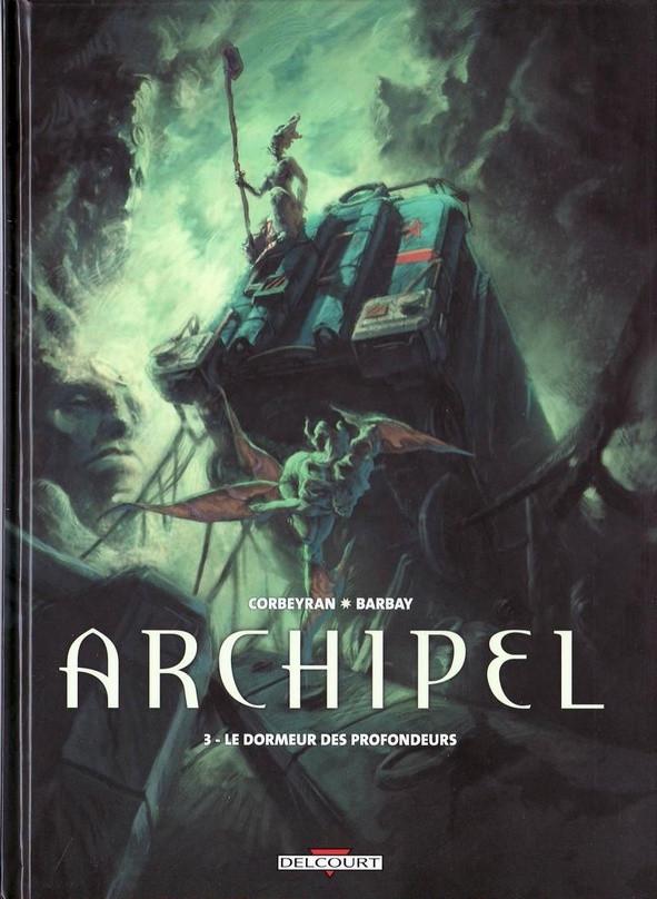 Couverture de Archipel -3- Le dormeur des profondeurs