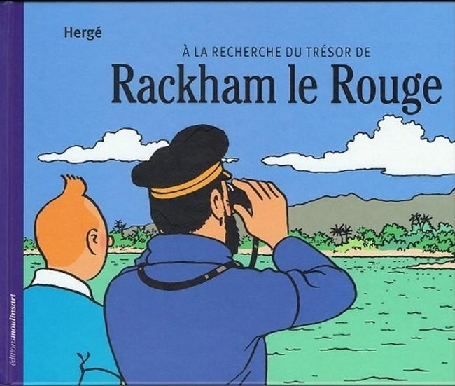 Couverture de Tintin - Divers -12- À la recherche du Trésor de Rackham le Rouge