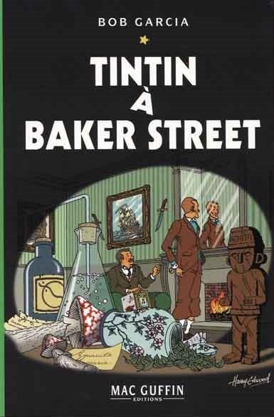 Couverture de (AUT) Hergé -111- Tintin à Baker Street