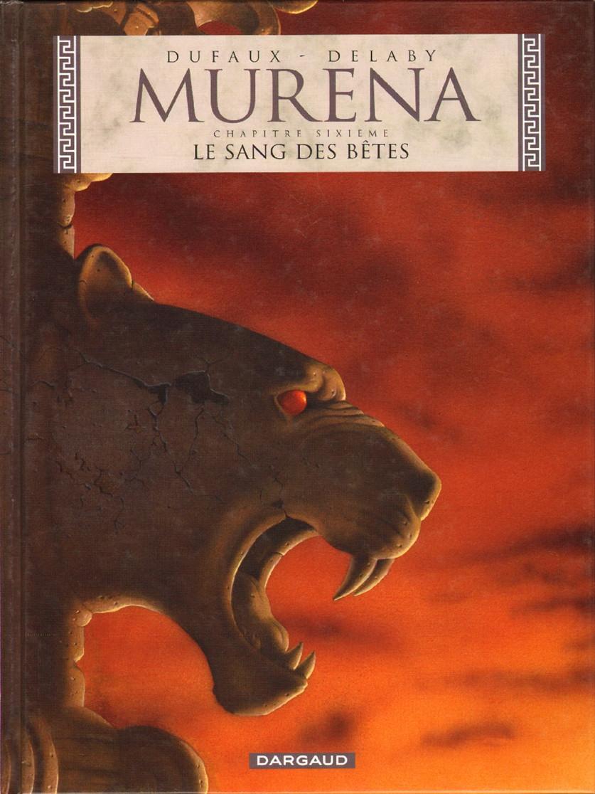 Couverture de Murena -6- Le sang des bêtes