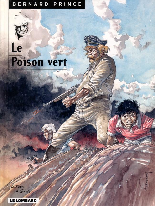 Couverture de Bernard Prince -17- Le poison vert