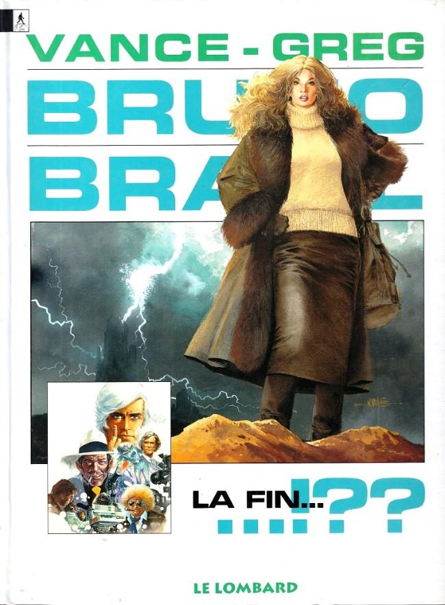 Couverture de Bruno Brazil -11- La fin...!??