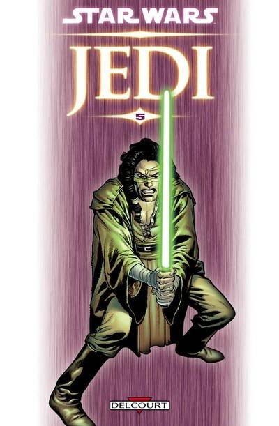 Couverture de Star Wars - Jedi -5- Au bout de l'infini