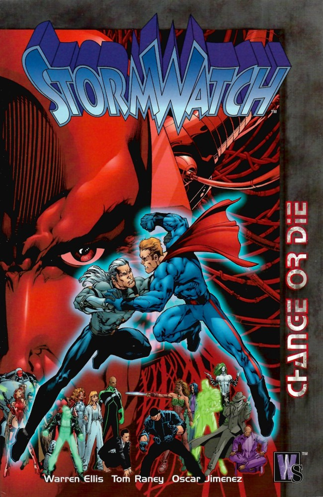 Couverture de StormWatch (1993) -INT03- Change or Die