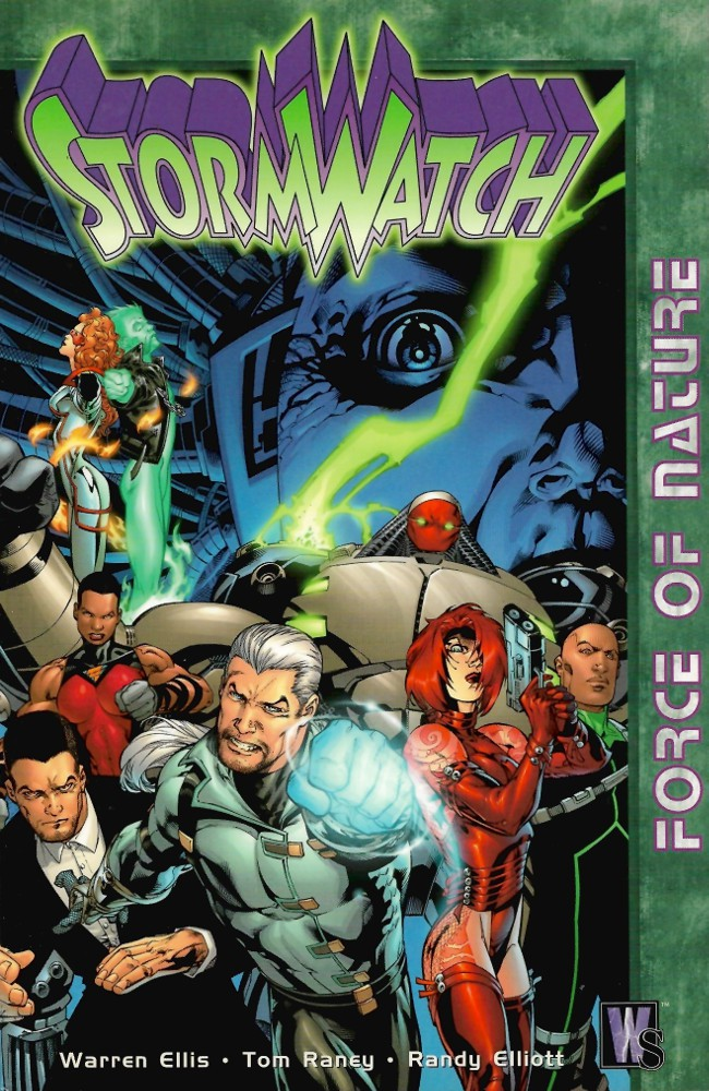 Couverture de StormWatch (1993) -INT01- Force of Nature