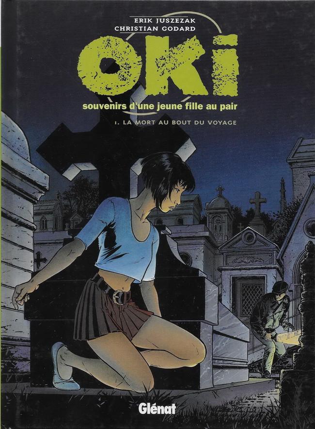 Couverture de Oki, souvenirs d'une jeune fille au pair -1- La mort au bout du voyage