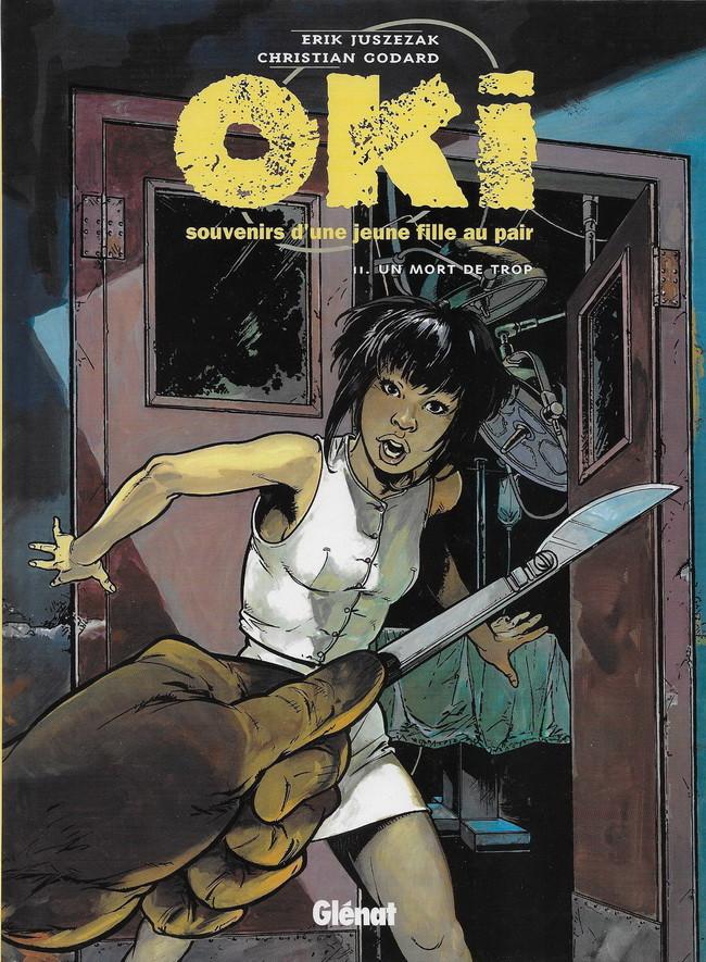 Couverture de Oki, souvenirs d'une jeune fille au pair -2- Un mort de trop
