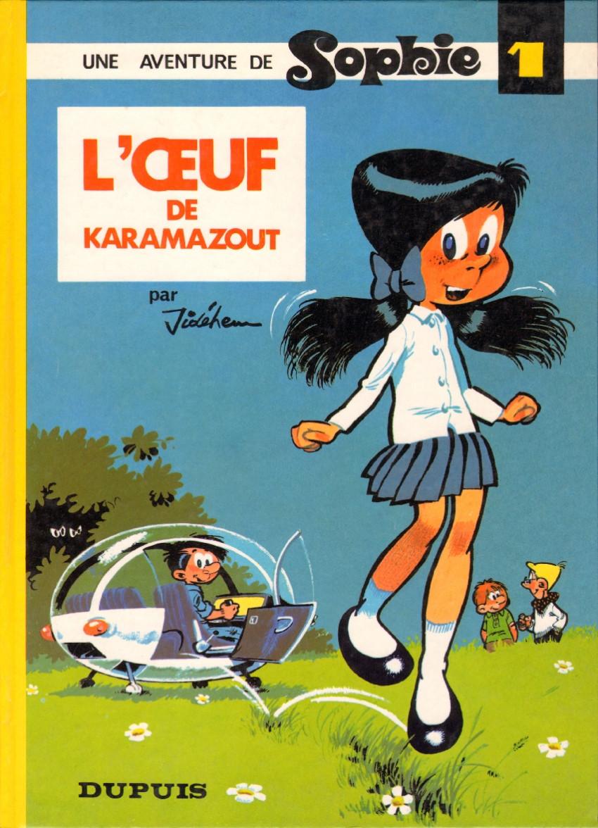 Couverture de Sophie (Jidéhem) -1- L'œuf de Karamazout