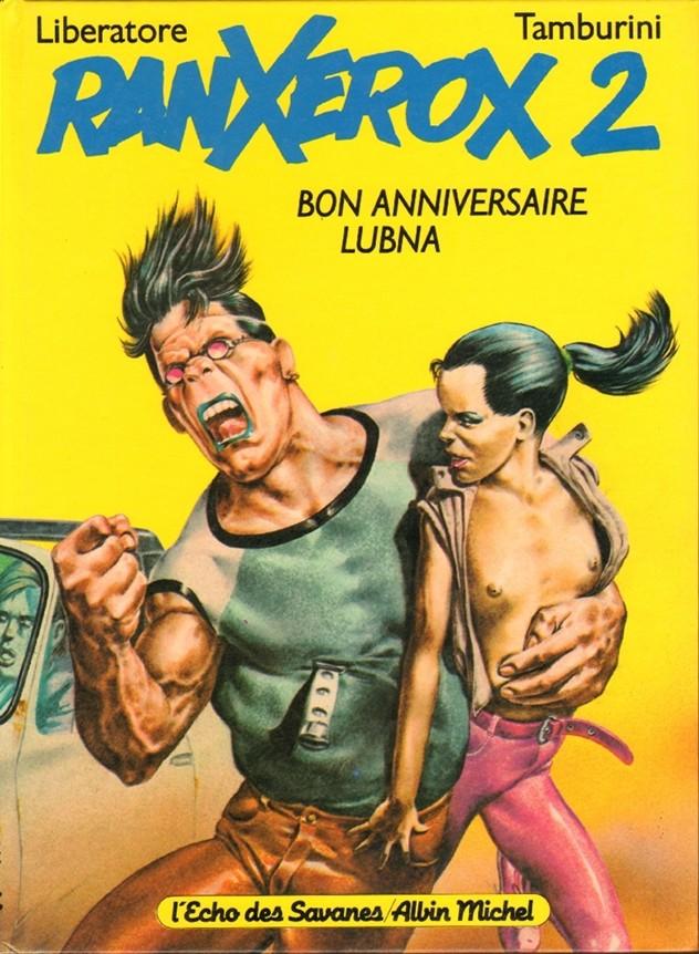 Couverture de RanXerox -2- Bon Anniversaire Lubna