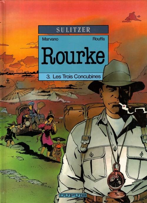 Couverture de Rourke -3- Les Trois Concubines