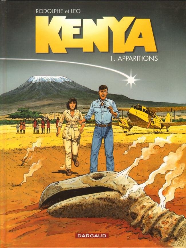 Couverture de Kenya -1- Apparitions