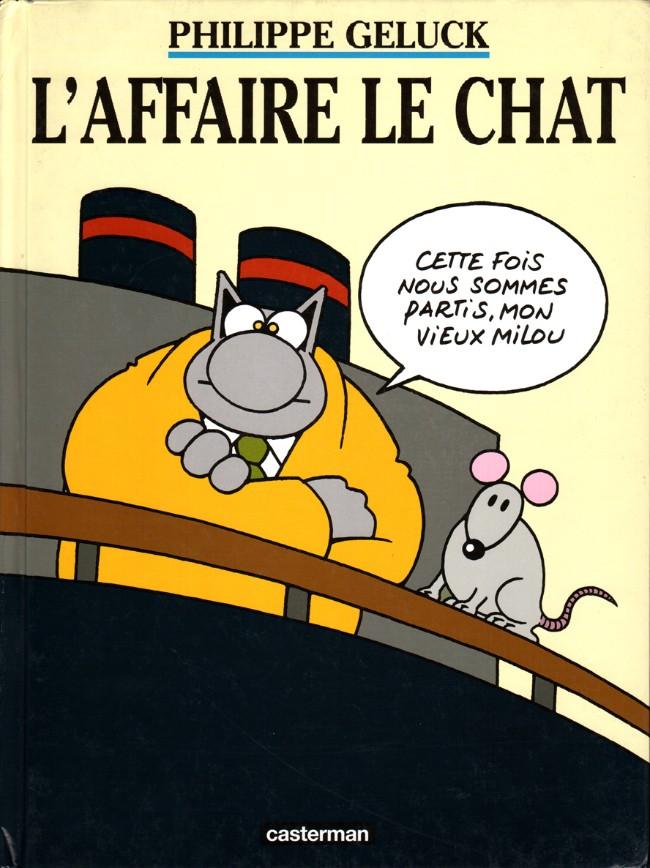 Couverture de Le chat -11- L'affaire le Chat