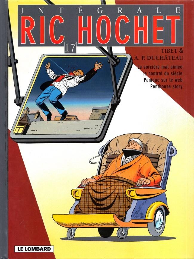 Couverture de Ric Hochet (Intégrale) -17- Tome 17