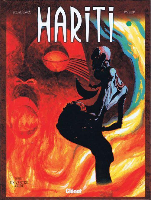 Couverture de Hariti -1- Un ventre aride
