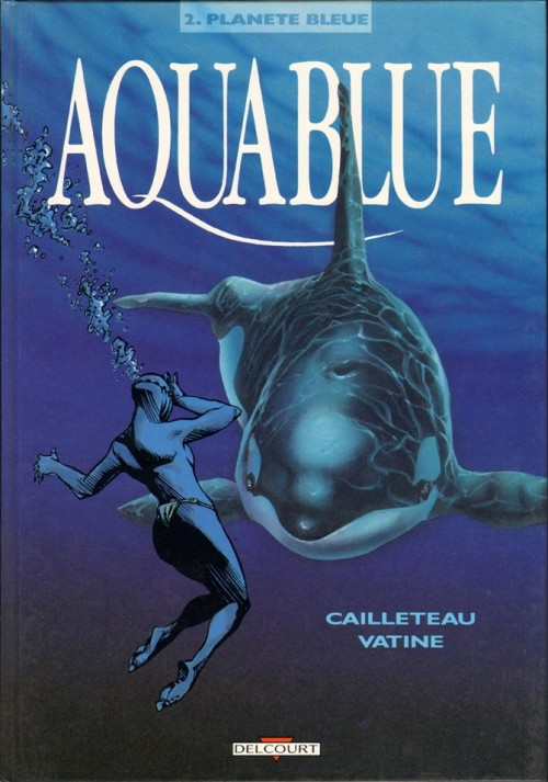 Couverture de Aquablue -2- Planète bleue