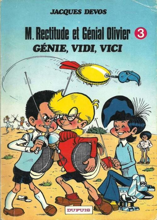 Couverture de Génial Olivier -3- Génie, Vidi, Vici
