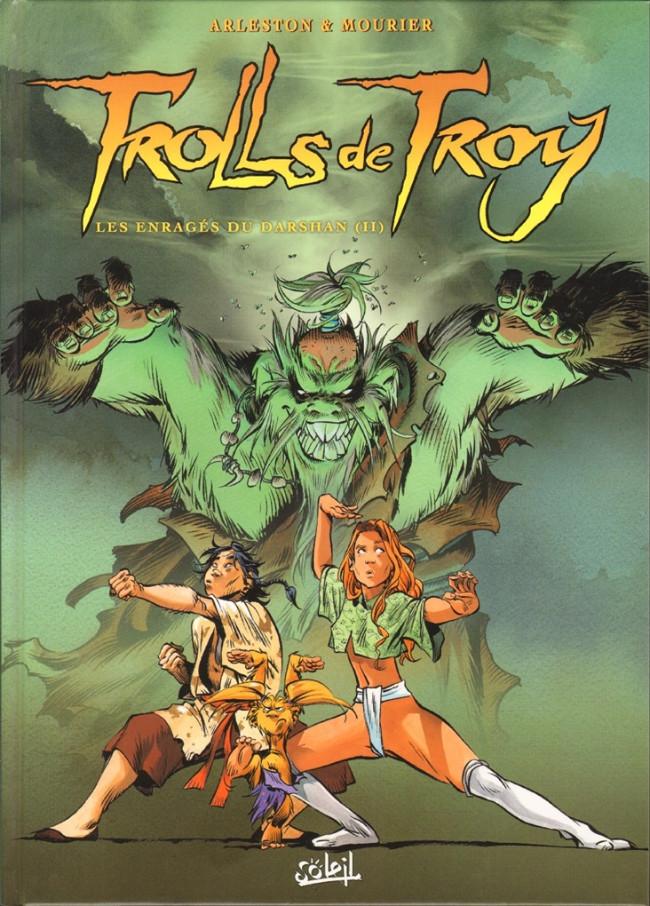 Couverture de Trolls de Troy -10- Les enragés du Darshan (II)