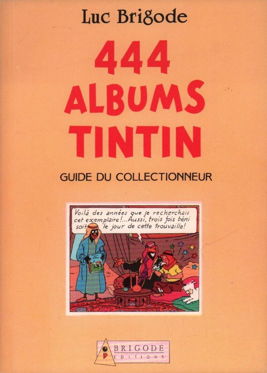 Couverture de Tintin - Divers - 444 albums Tintin
