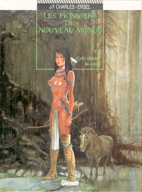 Couverture de Les pionniers du Nouveau Monde -7- Crie-dans-le-vent