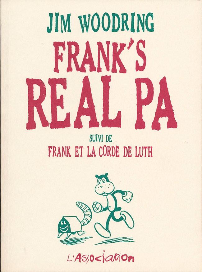 Couverture de Frank -3- Frank's Real Pa suivi de Frank et la corde de luth