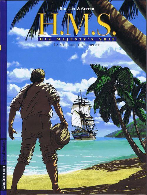 Couverture de H.M.S. - His Majesty's Ship -3- La morsure du serpent