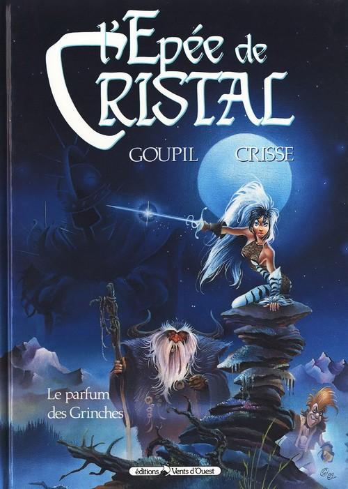 Couverture de L'Épée de Cristal -1- Le parfum des Grinches