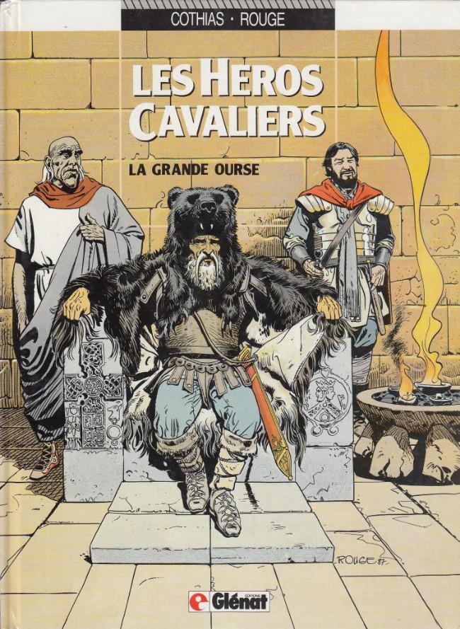Couverture de Les héros cavaliers -2- La grande ourse