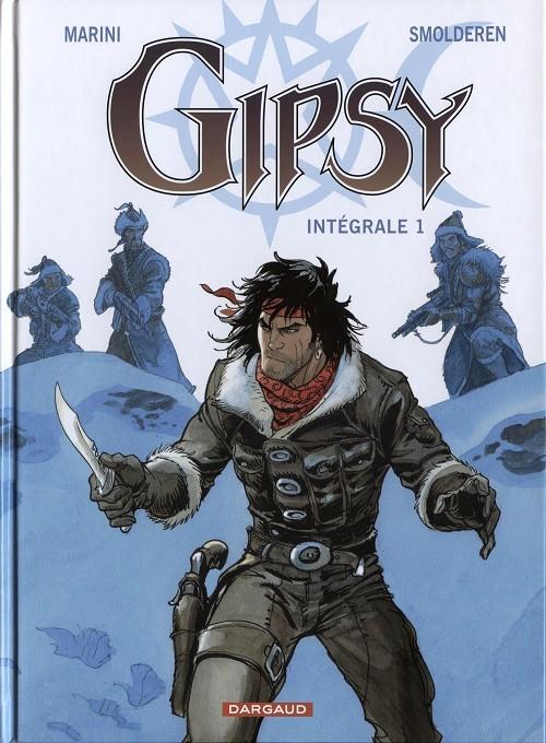 Couverture de Gipsy -INT1- Intégrale 1 - Le cycle de Sibérie