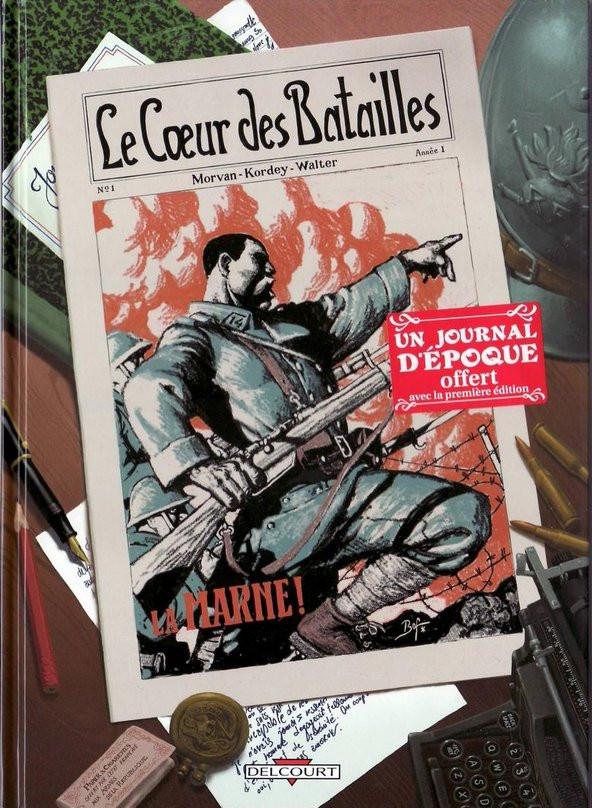 Couverture de Le cœur des batailles -1- La Marne !