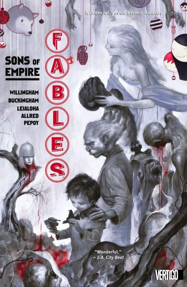 Couverture de Fables (2002) -INT09- Sons of Empire
