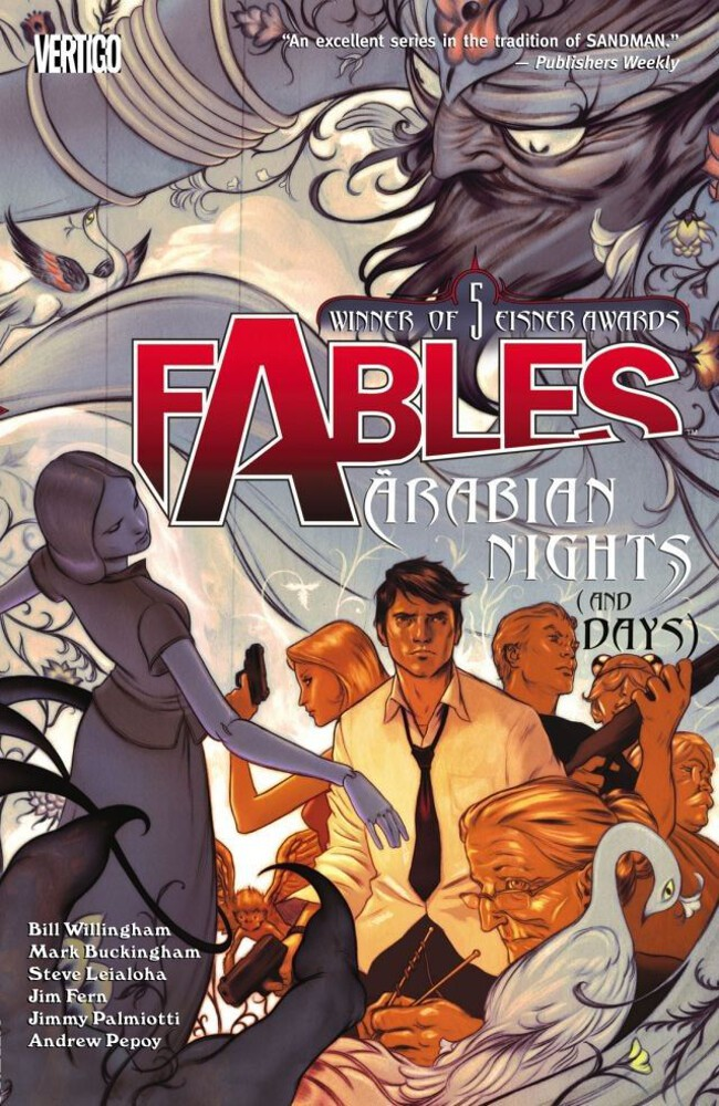 Couverture de Fables (2002) -INT07- Arabian Nights (and Days)