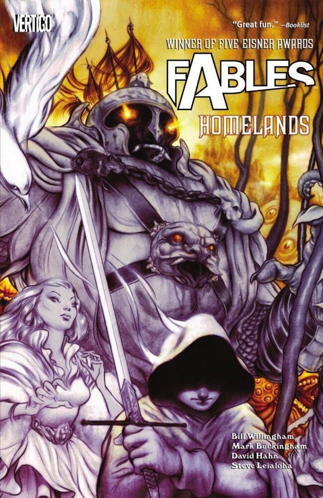 Couverture de Fables (2002) -INT06- Homelands