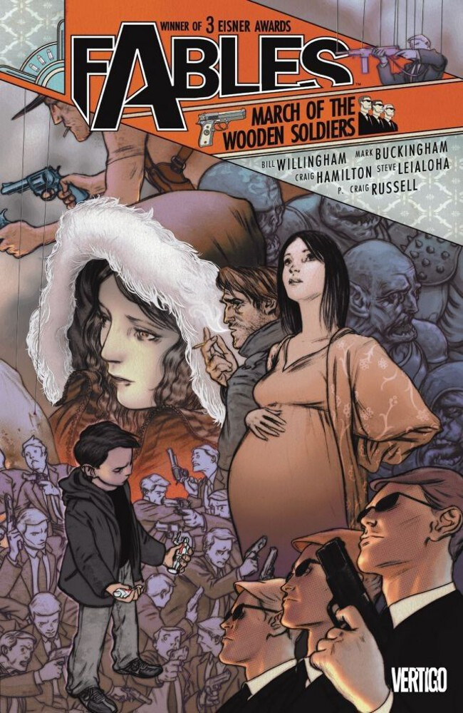 Couverture de Fables (2002) -INT04- March of the Wooden Soldiers