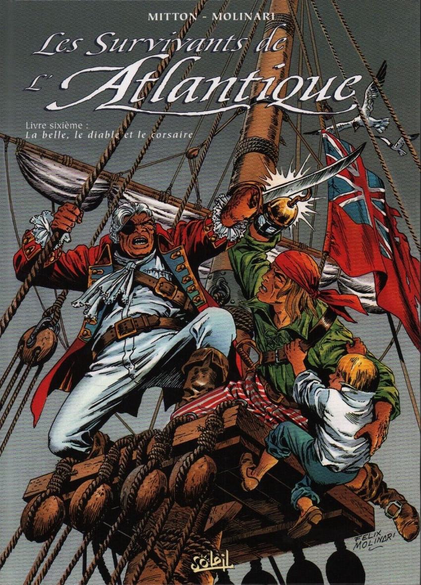 Couverture de Les survivants de l'Atlantique -6- La belle, le diable et le corsaire