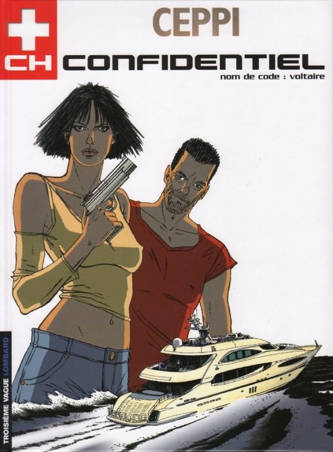 Couverture de CH Confidentiel -2- Nom de code: Voltaire