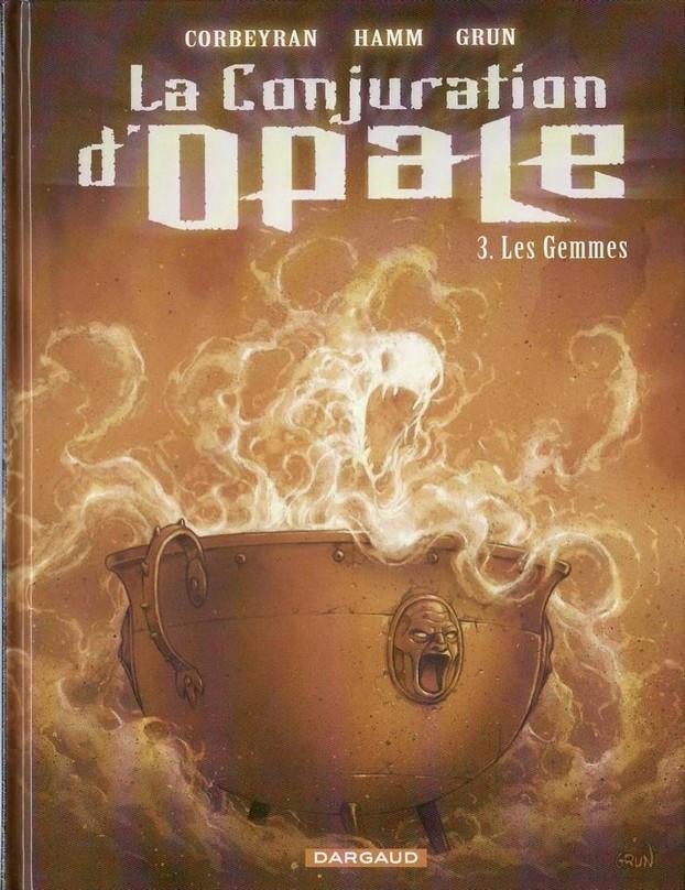 Couverture de La conjuration d'opale -3- Les Gemmes