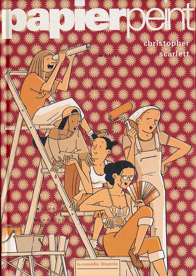 Couverture de Les filles -2- Papier peint